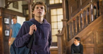 THE SOCIAL NETWORK, Jesse Eisenberg, 2010. ©Columbia Pictures/Courtesy Everett Collection